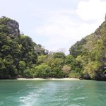 Beach where we snorkeled- Krabi