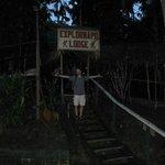 ExploraNapo Lodge entrance
