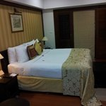 Great comfy beds and large bedrooms.