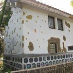 弾痕の家(復元)
