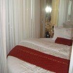 Bed in Roman room