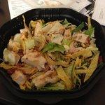 Santa Fe chicken salad!