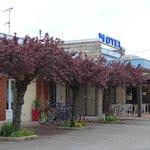 façade du motel