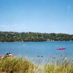 Narrabeen lake a beautiful view