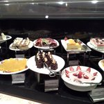 Desserts at the westin