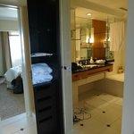 dressing et salle de bain séparés