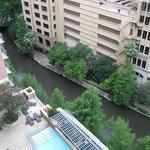 View from 12th floor corner suite