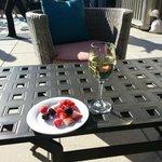 Petite pause vin gratuit