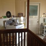 Museum- kitchen area