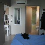 chambre vue salle de bains