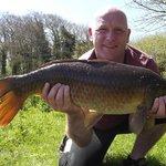 One of many 14lb carp caught