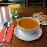 soup of the day, perfect.