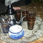Welcome in Morroco - have a mint tea