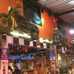 Bikes in the bar