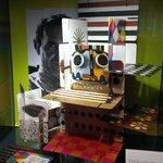 "Charles Eames' Wolkenkukushaus game ""Cloud Cuckoo House"""