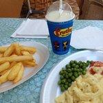 Large milkshake- really??!