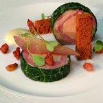 Yorkshire Chicken, Ham Hock & Fois Gras Terrine