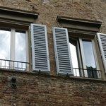 our 2 main windows on the 3rd floor