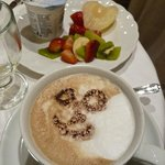 breakfast cappuccino
