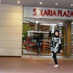 Plaza beside hotel