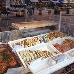 hamburger di pesce ed altre specialità
