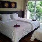 Nice big comfy beds