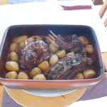 Borrego em Forno de Lenha, Lamb in Wood Oven