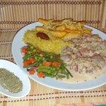 Lombinhos com Molho de Oregãos, Tenderloin with Oregano Sauce