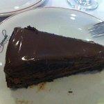 torta mousse de chocolate