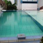 small strange pool.