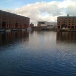 il porto vecchio di Liverpool...