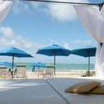 Relax on our private cabana beds