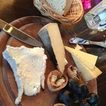 Four: a cheese plate