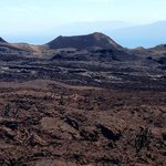 The lava fields at Vulcan Chico