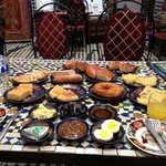 breakfast at Dar Hafsa