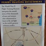 Flight Museum Brochure with location map