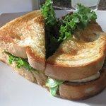 great chicken ceaser sandwich