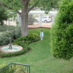 The beautiful wedding grounds