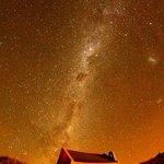 night sky from church. just a short walk