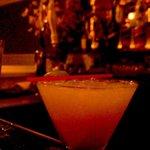 D'Canela's famous Smokey Margarita