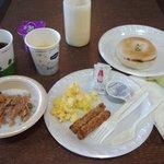 価格の割りに充実した朝食