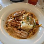 Pasta with grilled chicken special on May 4, 2013