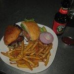 Jamaican Pork Sandwhich