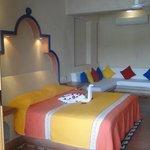 Habitacion con una cama king size