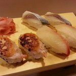 Buffet: Fresh torched mayo prawn + other tasties