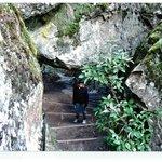 Stone steps at Hanging Rock