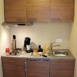 Kitchenette im Apartment