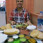 and my husand loves thali too