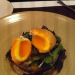 Egg, Jerusalem Artichoke, Truffle