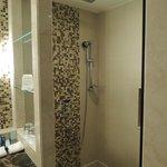 Bathroom - No tub but awesome rain shower.